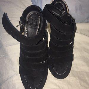 Tory Burch wedge shoes - Black